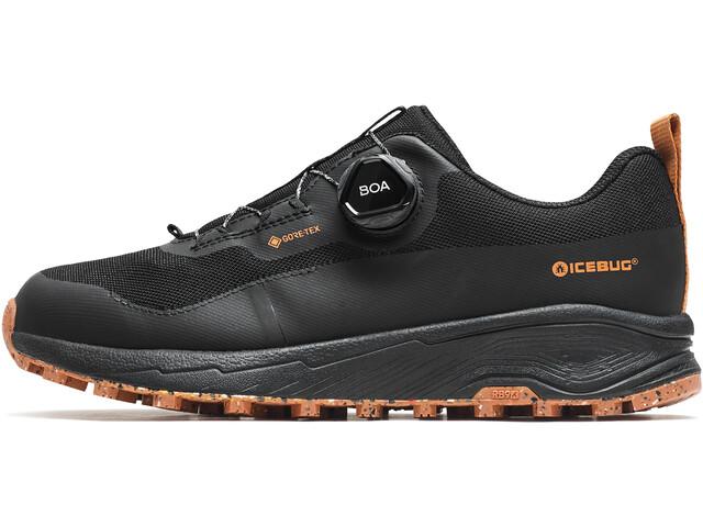 Icebug NewRun RB9 GTX Running Shoes Men black/maple